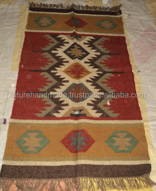 Hand Tufted Wool Rugs and Carpets Indian Hemp Rugs Home Decor Natural Jute Rug Wholesale Carpet Future Handmade