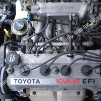 JDM USED ENGINE WITH GEARBOX FOR 4A-FE 5A-FE AE90 AE92 COROLLA