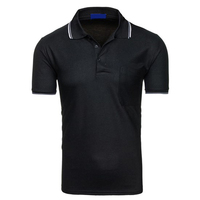 Casual Sports Slim Fit Men's Short Sleeve T Shirt Polo Tee Hot