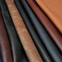 Real Cow Aniline Finish Leather, Real Finish Leather for Car Seats