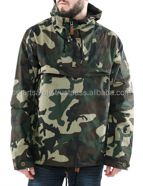 Top Sold design your own woodland camouflage winter military jacket 2018