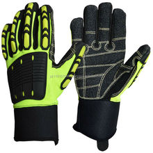High Super Quality SAFETY IMPACT LINED MECHANIC GLOVES MG-013 Impact Gloves for Oil Gas