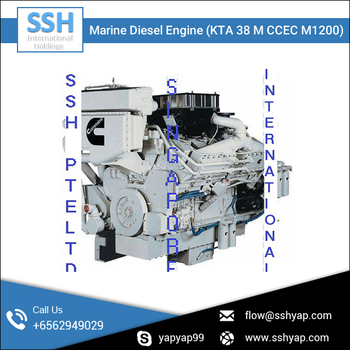 Latest Designed Advance Marine Diesel Engine at Reliable Price