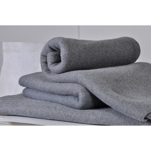 No Bad Smell and Dust Fleece Baby Blanket with Dry Raised Both Sides for warm keep