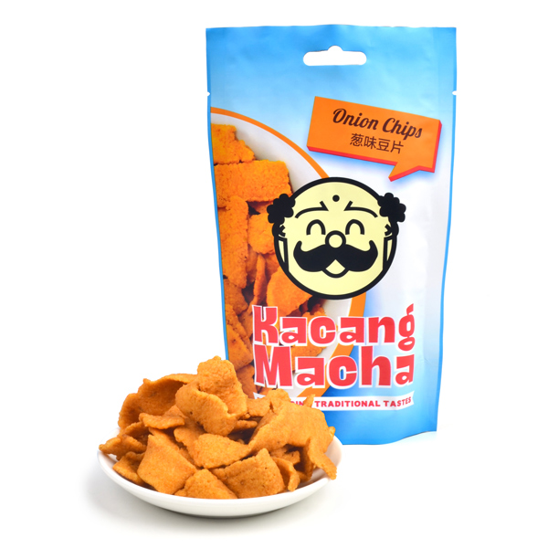Premium GMP/ HACCP/ Halal Certified/ No Added Preservative, Artificial Flavoring & Colouring/ Onion Chips Snack Muruku Food