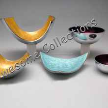 Aluminium Fruit Dishes, Trays, Bowls with Enamel Colours