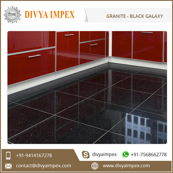 Star Black Galaxy Hot Selling Granite Slabs and Tiles