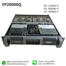 GY AUDIO Fp20000q 4 channel Class TD Switch Power Amplifier 2200W