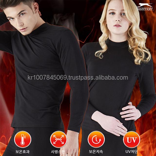 Men and Women Winter heated thermal long johns Underwear (air warn microfiber , slim fit)