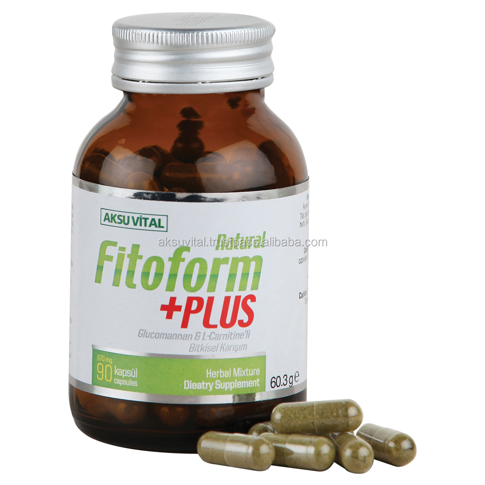 FITOFORM Natural Burn Fat Slimming Capsules Weight Loss Supplement