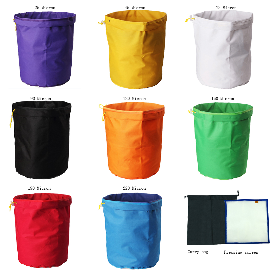 5 Gallon 8bags Herbal Ice Bubble Hash Bags