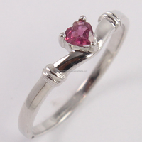 Natural PINK TOURMALINE 925 Sterling Silver Gemstone Ring, Wholesale Fine Jewellery, Online 925 Silver Jewelry