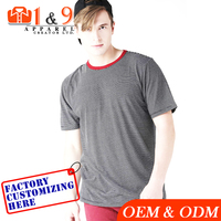 New t shirt 90% cotton 10% spandex t shirt Best price high quality from Bangladesh factory