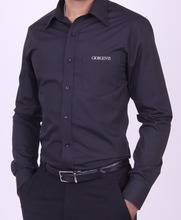 weekdays wear full sleeve shirts with company logo