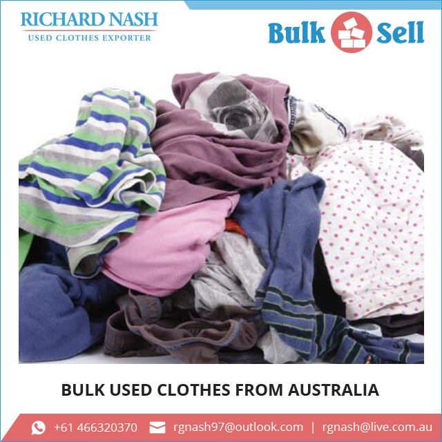 Wholesale Bulk Used Clothing from Australia