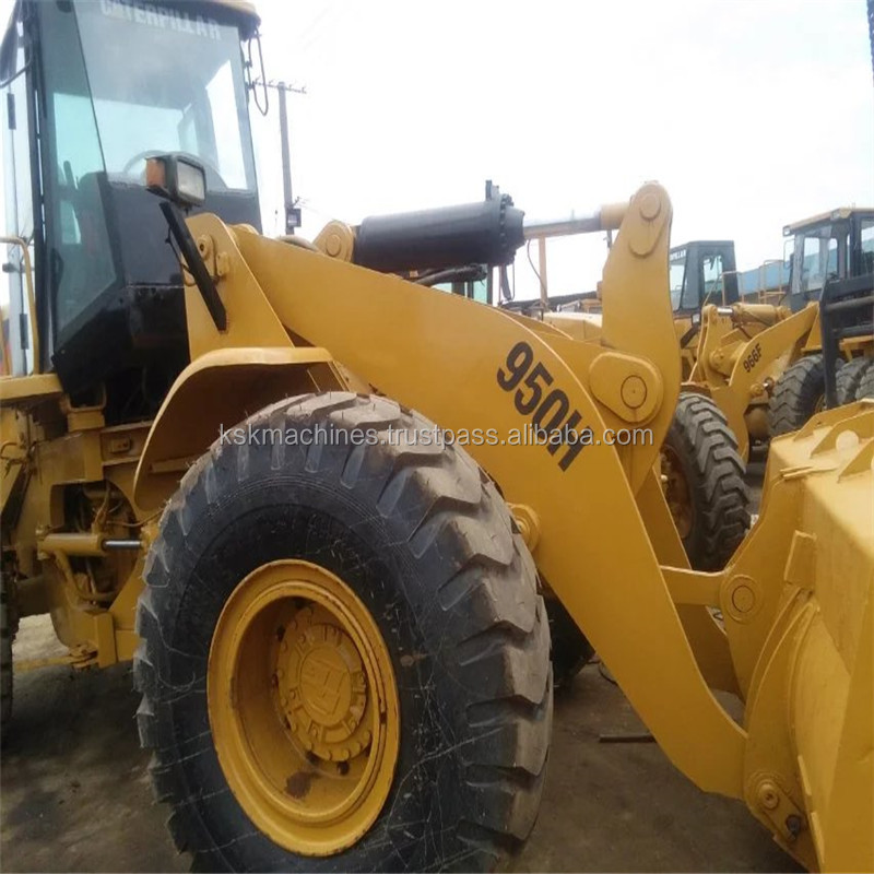High quality used good condition caterpillar wheeled loader 950H on sale