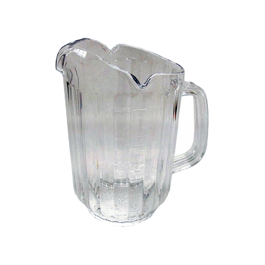 Unique Restaurant Clear PC Plastic Iced Fruit Infusion Pitcher