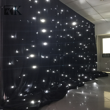 pipe and drapes for wedding backdrop decoration led star curtain