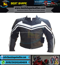New Motorbike Racing Wear for protection Jackets man Black Leather Jacket