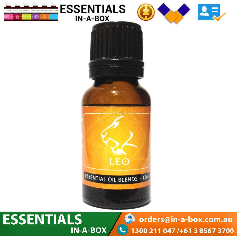 Aromatherapy by the stars essential oil Leo pure organic diffuser essentialoil
