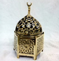 B217 Cast Brass Islamic Antique Reproduction Incense Burner