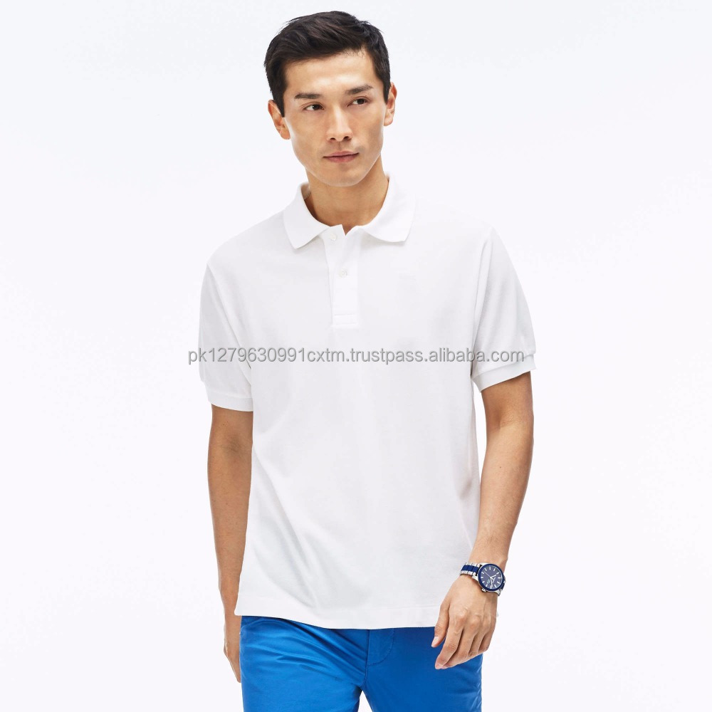 High Quality Branded Men Cotton Polo T Shirt Wholesale Clothing From Pakistan