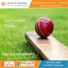 Live cricket broadcasting app development, sports applications