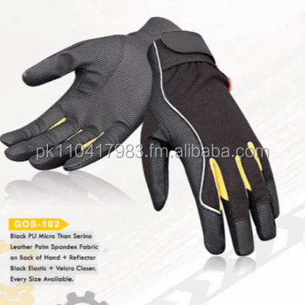 Impact Resistant Safety Work Anti Slip mechanic gloves