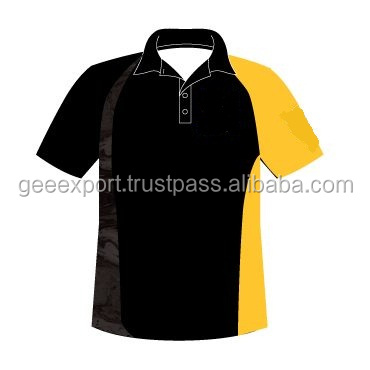 Black polo t shirt/2017 fashion men's shirts