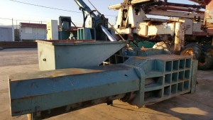 DISAN-TRIPLE SCRAP BALER DDBP 40X40 (10/2007 MANUFACT)