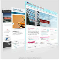 B2B C2C B2C Website Template Design for Electronics with SEO - Website Design & Development