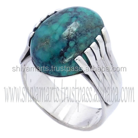 website latest ring design stock lot small wholesale 925 sterling silver trurquoise gemstone ring
