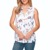 Casual wear women blouse | tops | tanks printed | solid color rayon sleeveless