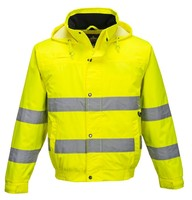 100% Cotton Functional Flame Retardant Workwear With Reflective Tapes For Industry Workers