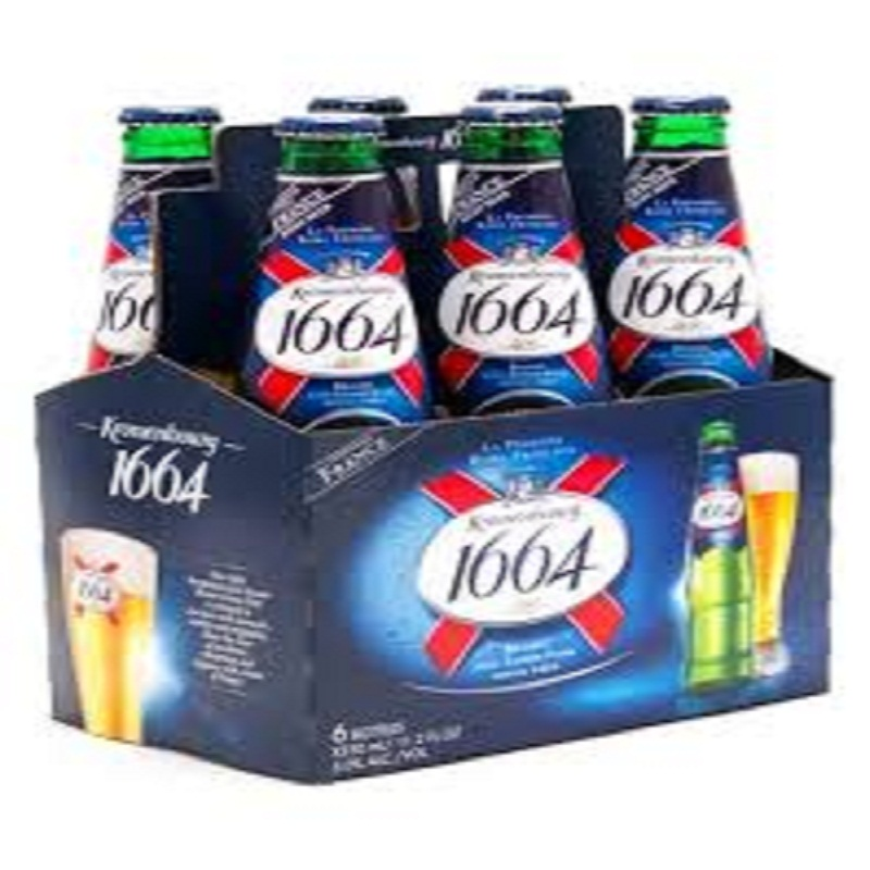 Kronenbourg 1664 Beer Blanc Beer and 33cl. cans/ bottles