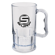 Cheap Customized Plastic Beer Mug WIth Customized Logo, Durable PC Plastic Beer Mug