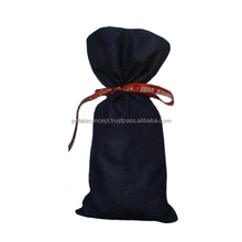 Ribbon String Denim Gift Bag