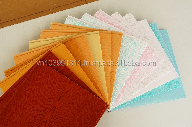 Hot stamping/ printing PVC ceiling panel