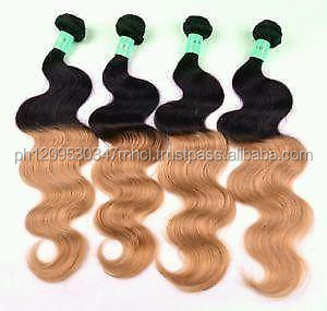 Remy Brazilian Virgin Wave 100% Real Human Hair Weaving Weft Extensions