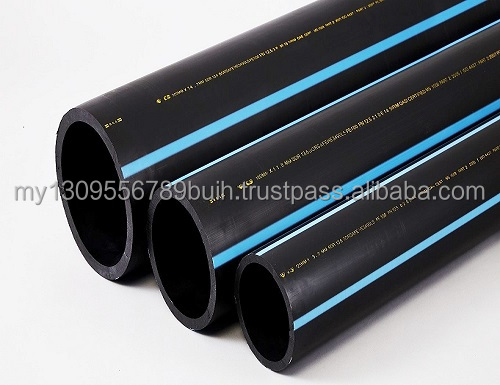 HIGH DENSITY POLYETHYLENE PIPE compiled with various standard (ISO, MS, BS, & JIS)