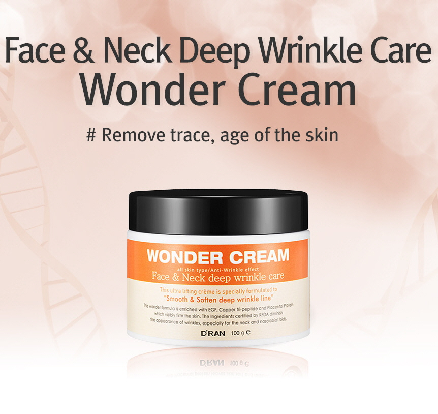 49. Best selling Korean skincare - D'RAN Face & neck deep wrinkle care wonder cream 100g