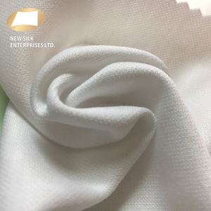 Best offer 210gsm sweat absorbing t-shirt white 57 polyester 43 cotton interlock knit TC fabric rolls