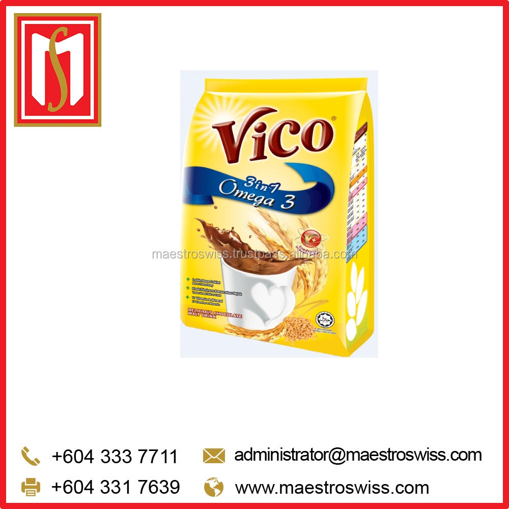 VICO 3IN1 OMEGA 3 Chocolate Malt Drink