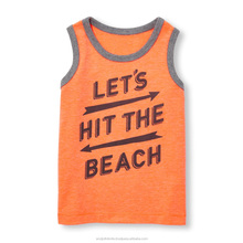 Baby and toddler boys graphic tank top