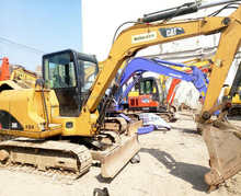 used excavator CAT 306 with high quality and low price on hot sale in shanghai