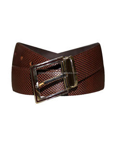 Custom Men Cow Hide Genuine Leather Belt/Fashion Leather Belt/Belt Factory