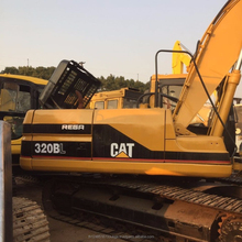 used cat 320 digging Excavator long boom excavator for sale