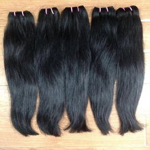 Factory Price Cheap Hair Extension Human Virgin Brazilian Straight Hair Weft