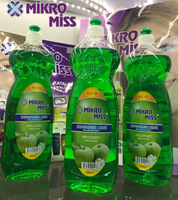 NEW 750 ml Dishwashing Liquid ONLY 0.25 USD, Kitchen Detergent apple