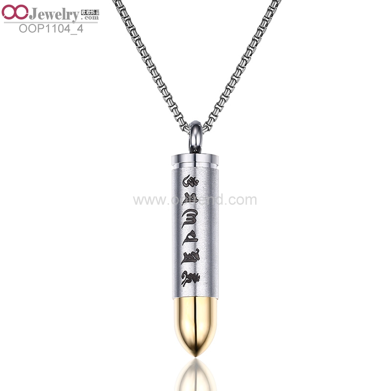 Glossy Textured stainless steel Pendant with low price